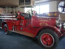 Neosho Antique Fire Truck