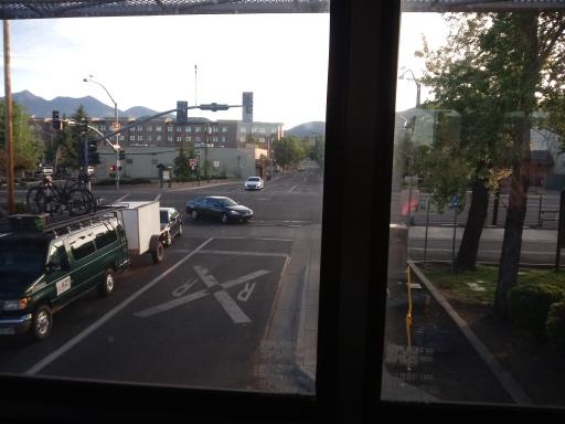 Amtrak Woke up in Flagstaff