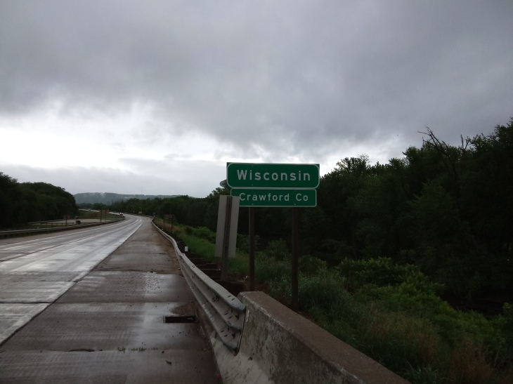 Plain Wisconsin Sign